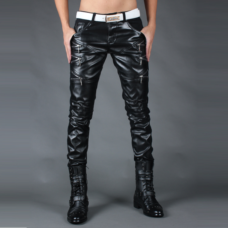 73d6c4331b invierno 2015 de para el de moda apretados de pantalones hombres hombre  ropa cremallera nueva pitillo ...