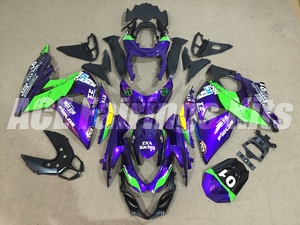 New Motorcycles Fairings kits Fit For Suzuki GSXR1000 K9 2009-2016 GSXR-1000 09 10 11 12 13 14 15 16 ABS Plastic purple green FR(China)