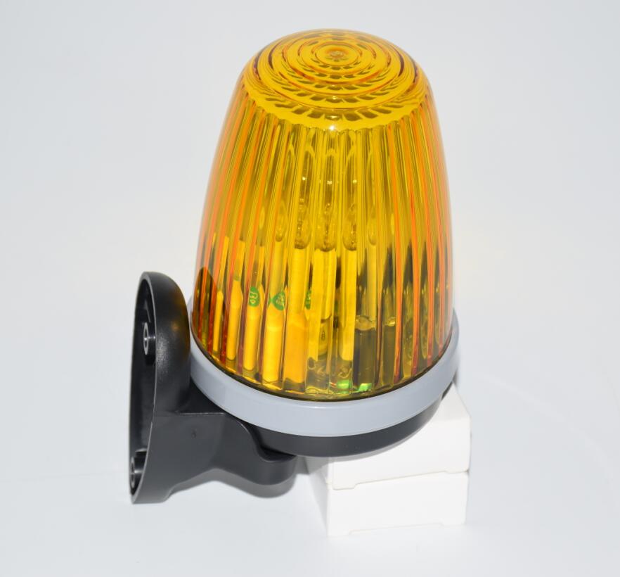 LPSECURITY Garage Sliding Swing Gate Motor Flashing Lamp Bulb Blinker Safety Alarm Light Strobe Lamp(no Sound)