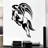 Wall Decal Wings Flying Horse Pegasus Mythology Ancient Vinyl Stickers