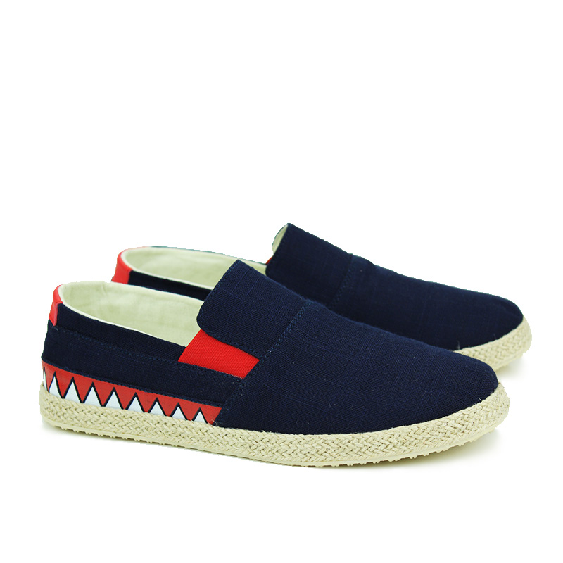 Spring Summer Fashion Men Canvas Shoes Man Casual Cotton and linen - Men's Shoes - Photo 3