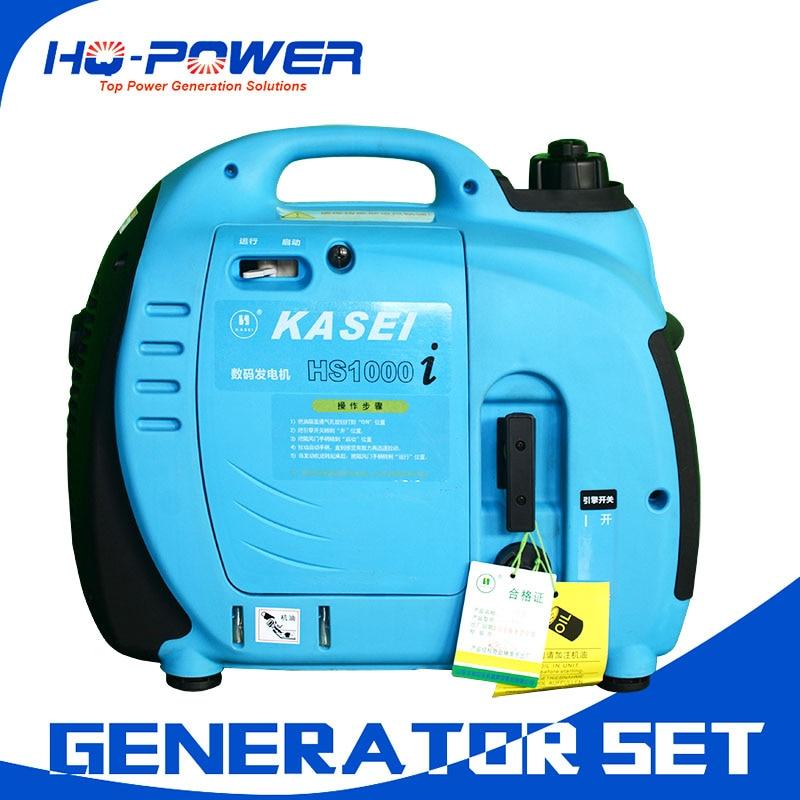 Портативный 1000 Вт бензиновый генератор инвертора 380 В для продажи