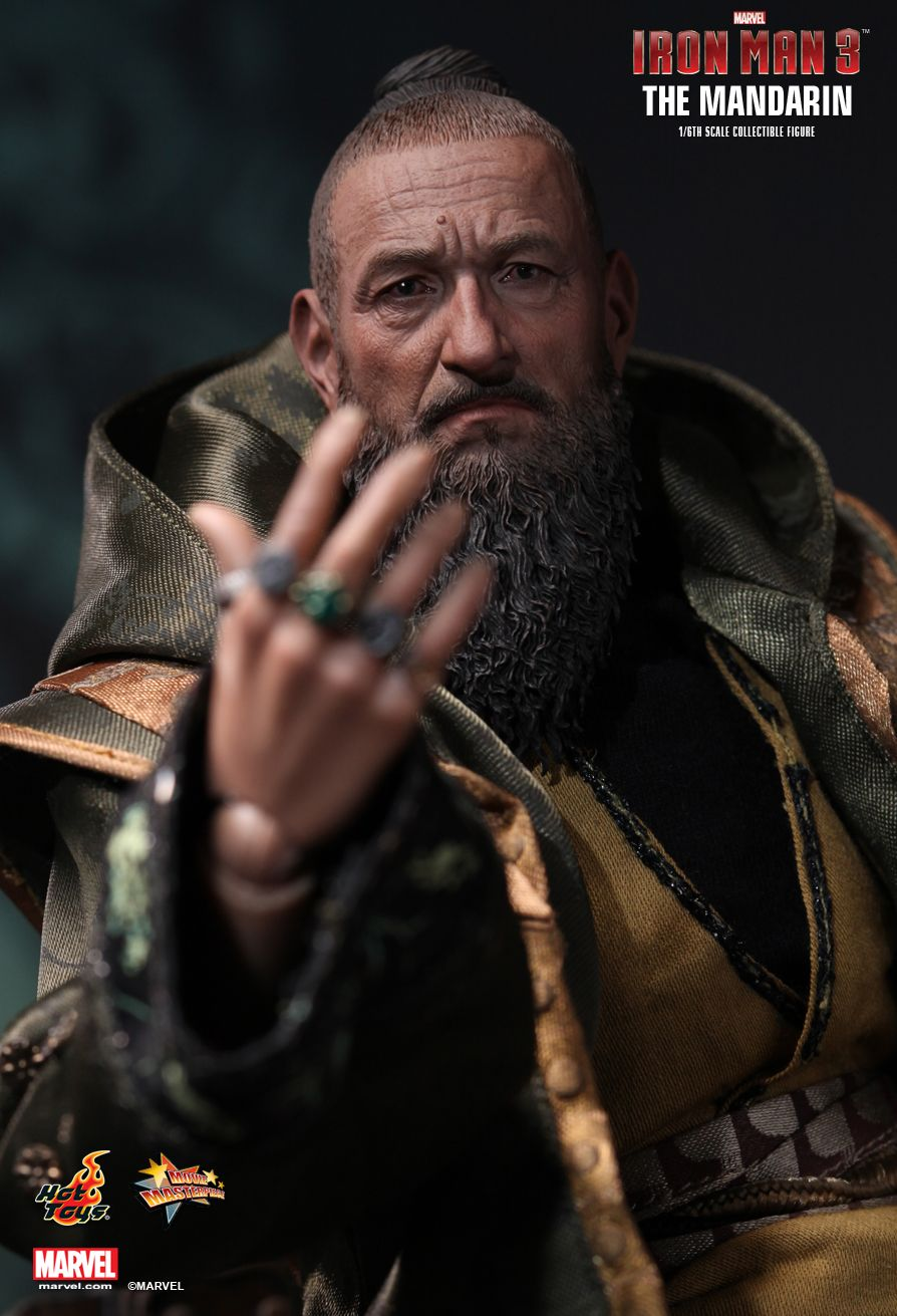 1/6 scale Collectible Figure doll Iron Man Three The Mandarin Ben Kingsley 12 action figures doll Plastic Model Toys art zerkalo зеркало kingsley gold