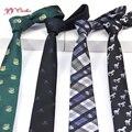 2016 dos homens novos da Marca de moda de seda do casamento de poliéster fino padrão logotipo jacquard gravatás gravata gravata para os homens escudo laços
