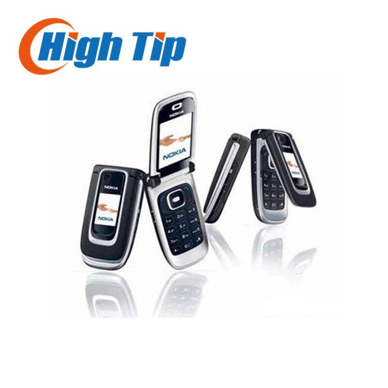 Original Nokia 6131 Unlocked cell phone support russian keyboard russian menu free shipping Refurbished one year