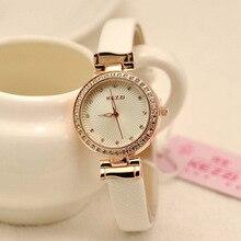 2015 Recién Llegado de Marca KEZZI Dom Patrón de diamantes de Imitación Señoras reloj Ladie Temperamento Salvaje Relojes Relojes de Cuarzo Al Por Mayor