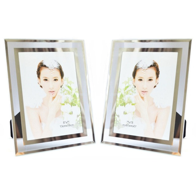 Giftgarden Glass Photo Frame Set 5x7 Picture Frames Home Office