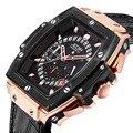 Reloj de pulsera para hombre, reloj para negocios, marca de lujo, reloj para hombre, impermeable, reloj para hombre, reloj cronógrafo