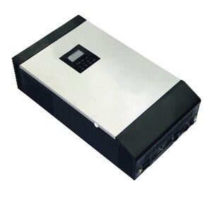 Image 3 - Onduleur solaire hybride à onde sinusoïdale Pure 3KVA 24V 220V 110V intégré PWM 50A contrôleur de Charge solaire et chargeur ca pour un usage domestique