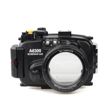 for Sony A6300 with Accurate Alarm Buzzer Equipment Meikon 40m/130ft Underwater Waterproof Housing Diving Case