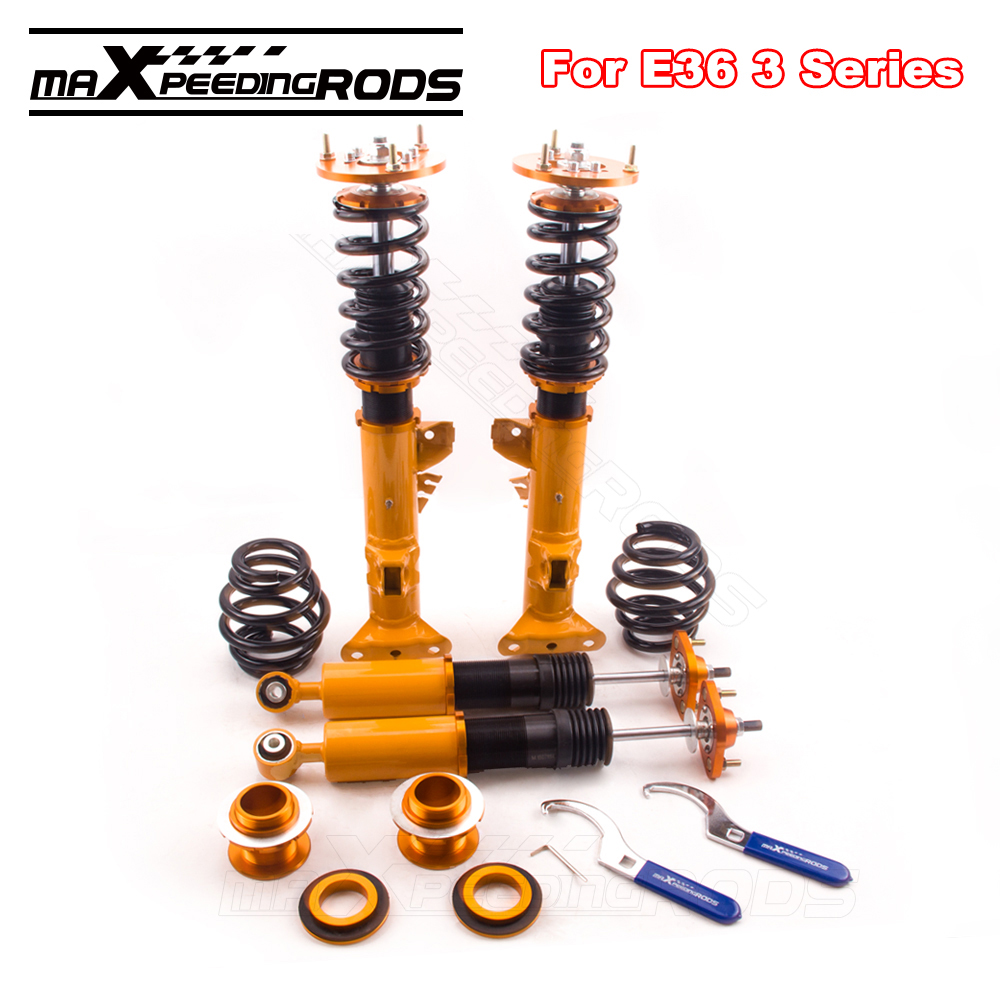Full coilover coil struts kit for bmw e36 3 series 316 318 323 325 328 m3