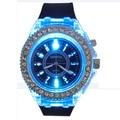 2016 Del Diamante Ocasional Unisex Reloj de Los Hombres Personalizada Estudiante Luminoso Reloj de La Manera LED Relojes de Las Mujeres relogio feminino Ginebra