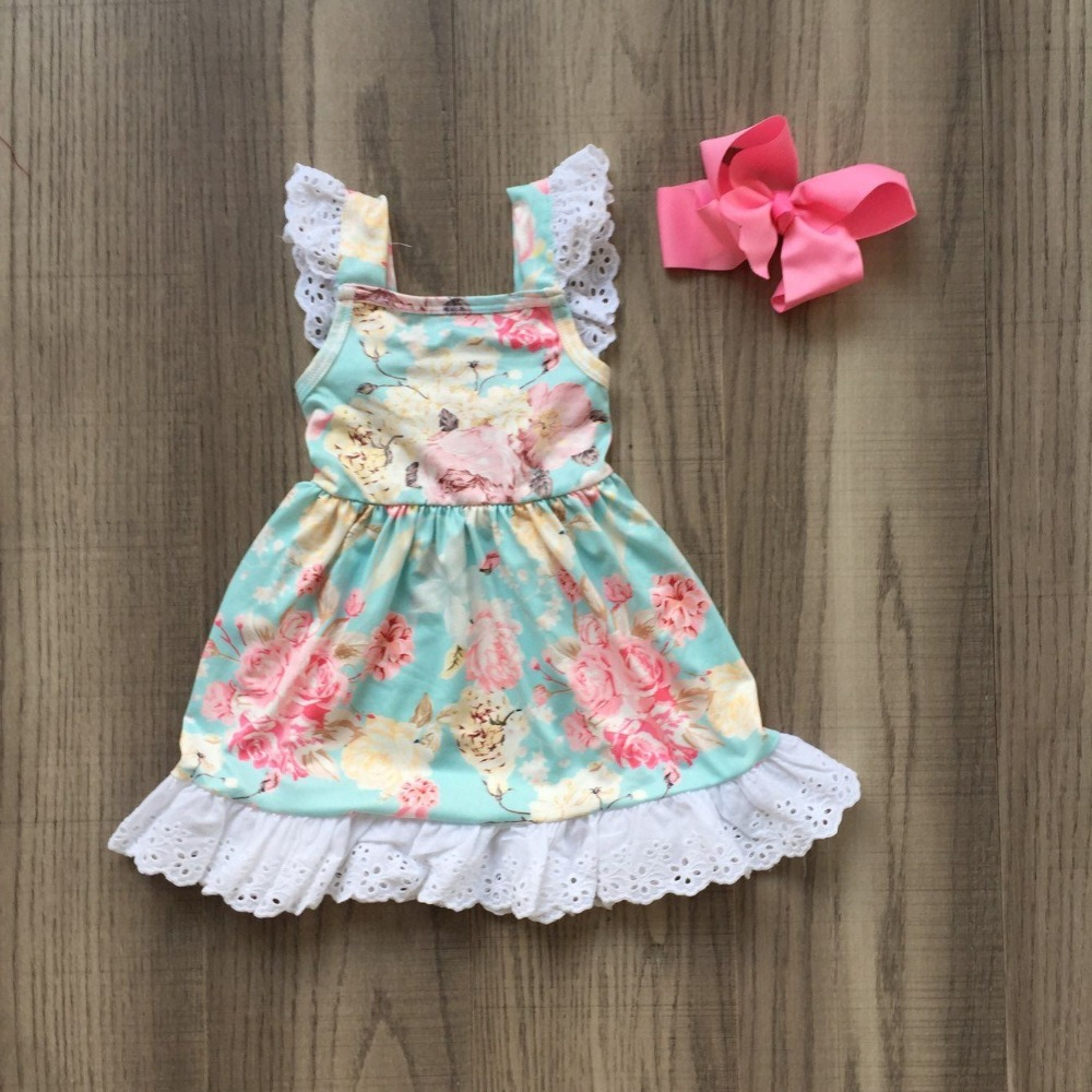 baby girls summer hot new arrival garden dress clothing girls floral  pink blue  milk lace silk dress wholesale baby girls summer hot new arrival garden dress clothing girls floral  pink blue  milk lace silk dress wholesale