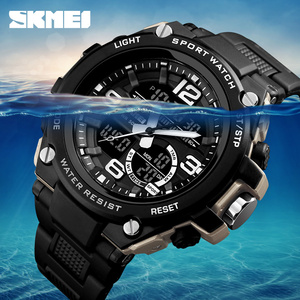 Image 3 - 2018 Skmei Luxury Brand Mens Sports Watches Dive 50m Digital LED Military Watch Men  Casual Electronics Wristwatches Relojes