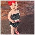 Año nuevo Sistemas de la Ropa de Los Bebés Infantiles Del Niño Del Bebé Niñas 2 unids Chica Photoshoting Ropa Tubo de La Borla de Top + Shorts Calzoncillos trajes