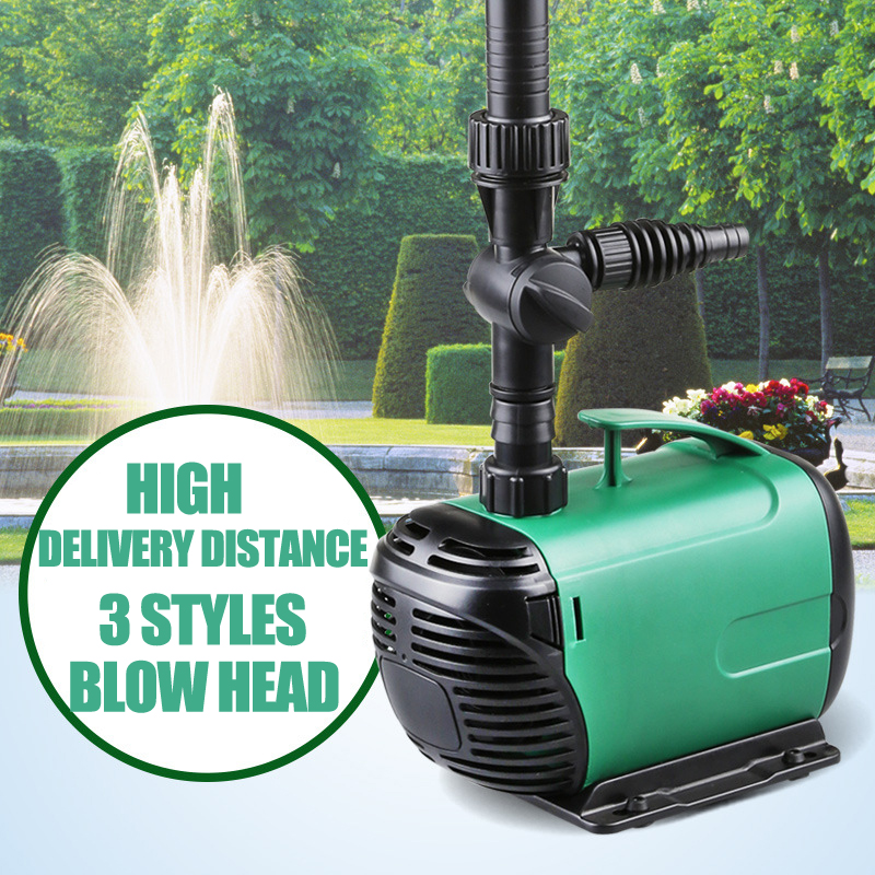 3500L/H High Power Fountain Water Pump Fountain Maker Pond Pool Garden Aquarium Fish Tank Water Circulate &Air Oxygen Increase