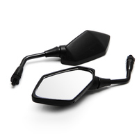 Motorcycle Racing Rearview Mirrors for Kawasaki Z750 2004 2005 2006 2007 ER6N Z1000 KLE400 KLE500 Rear View Side Mirror Parts