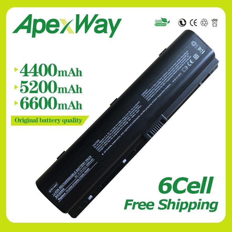 Apexway 11.1v  Laptop Battery for HP Pavilion DV6000 DV2000 DV6700 DV6100 DV6500 DV2700 Presario C700 A900 V3000 HSTNN-IB42