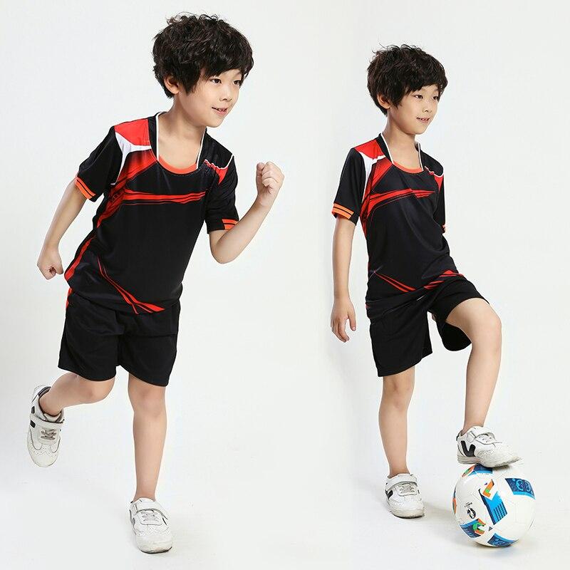 Niño niños fútbol Set Survetement fútbol deporte Kit Futbol jóvenes Boy  chándal uniformes traje Maillot De pie personalizado en Juegos de fútbol de  Deportes ... a3b63c2423796