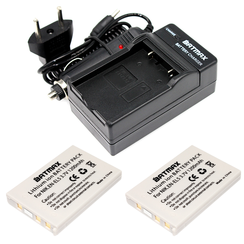 Camera battery en-el5 bateria en el5 + battery charger &car charger for NIKON COOLPIX P510 P530 3700 4200 5200 5900 S10 P4 P3 new 4 piece ia be210tb bp210e battery charger for hmx h220bn h220ln h220rn s10 s10bn s10bp h200 h200bd camera