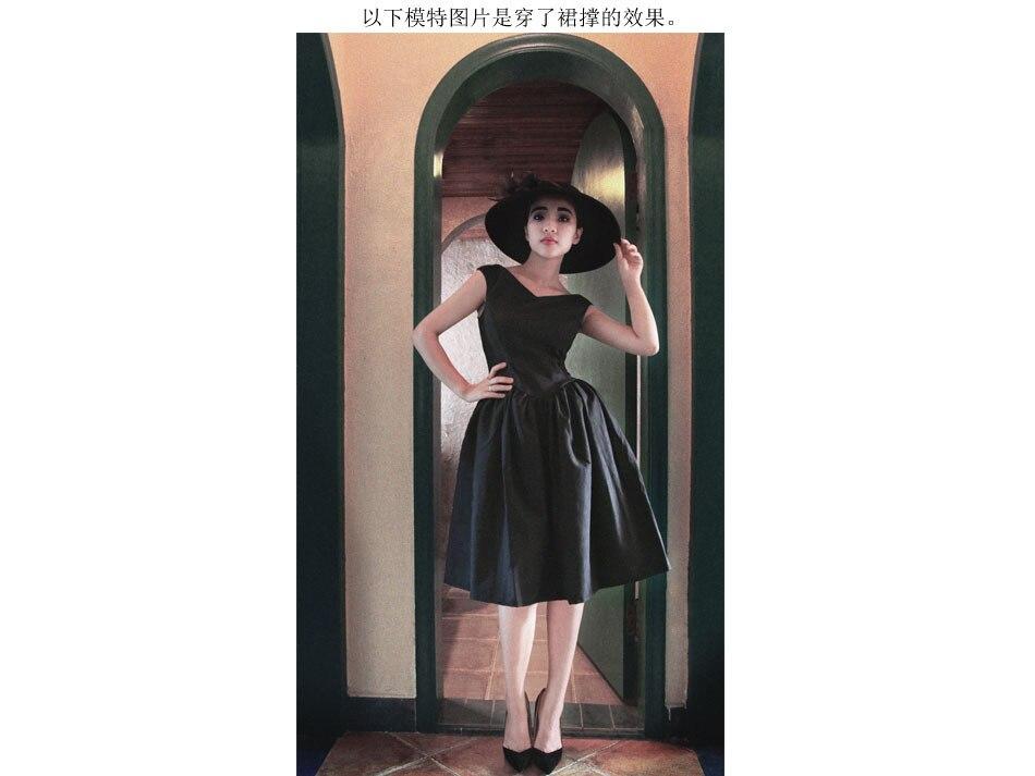 Vestito Audrey Vintage Maniche 50 Con Hepburn Red Donne Dress Partito Solid Fodera Lbd S Scollo Senza A V Little Retro 60 Black Delle Del Sexy Sqwf5