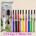 Стартовый набор эго ce4 оптовая многоразовые испаритель ручка эго-т ce4 Блистер комплект эго переменное напряжение батареи e сигареты ce4 бак 5YY