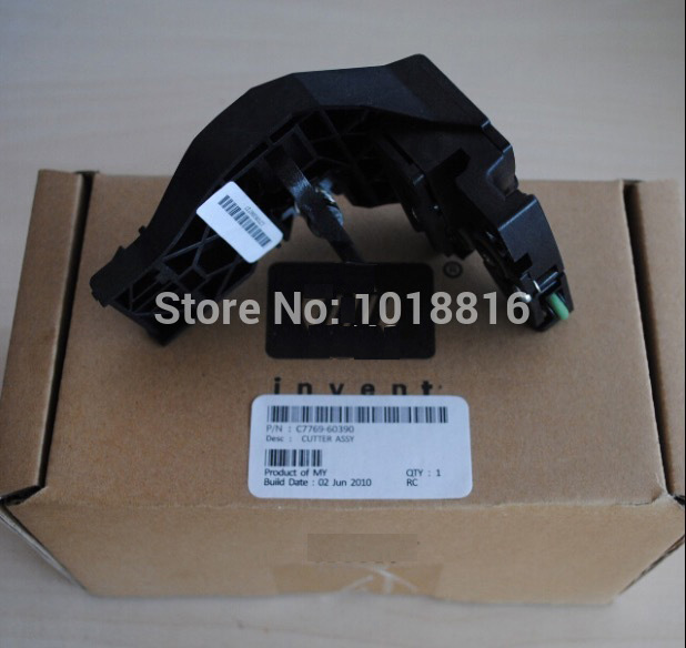 Free shipping new original C7769-60390 C7769-60163 Cutter assembly for DesignJet 500/800 plotter parts on sale free shipping new original c7769 60390 c7769 60163 cutter assembly for designjet 500 800 plotter parts on sale