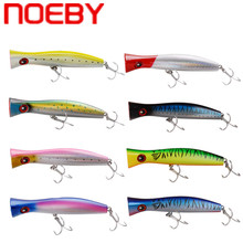 NOEBY Popper Fishing Lure 200mm 115.2g Top Water Hard Bait VMC Hooks Iscas Artificiais Para Pesca Leurre De Peche Wobler Na Ryby