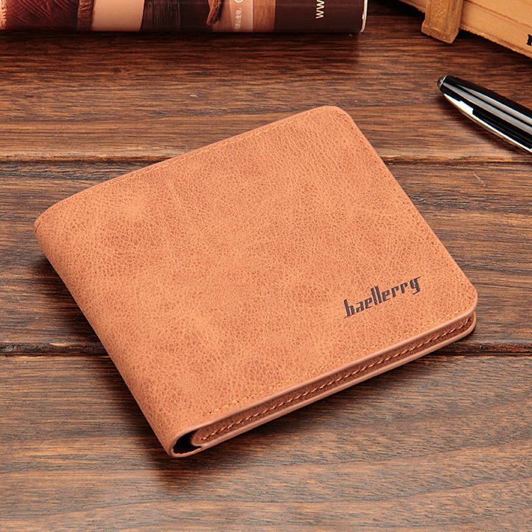 Baellerry 17 men wallets mens wallet small money purses Wallets New Design Dollar Price Male Wallet Purse with zipper Coin Bag 12