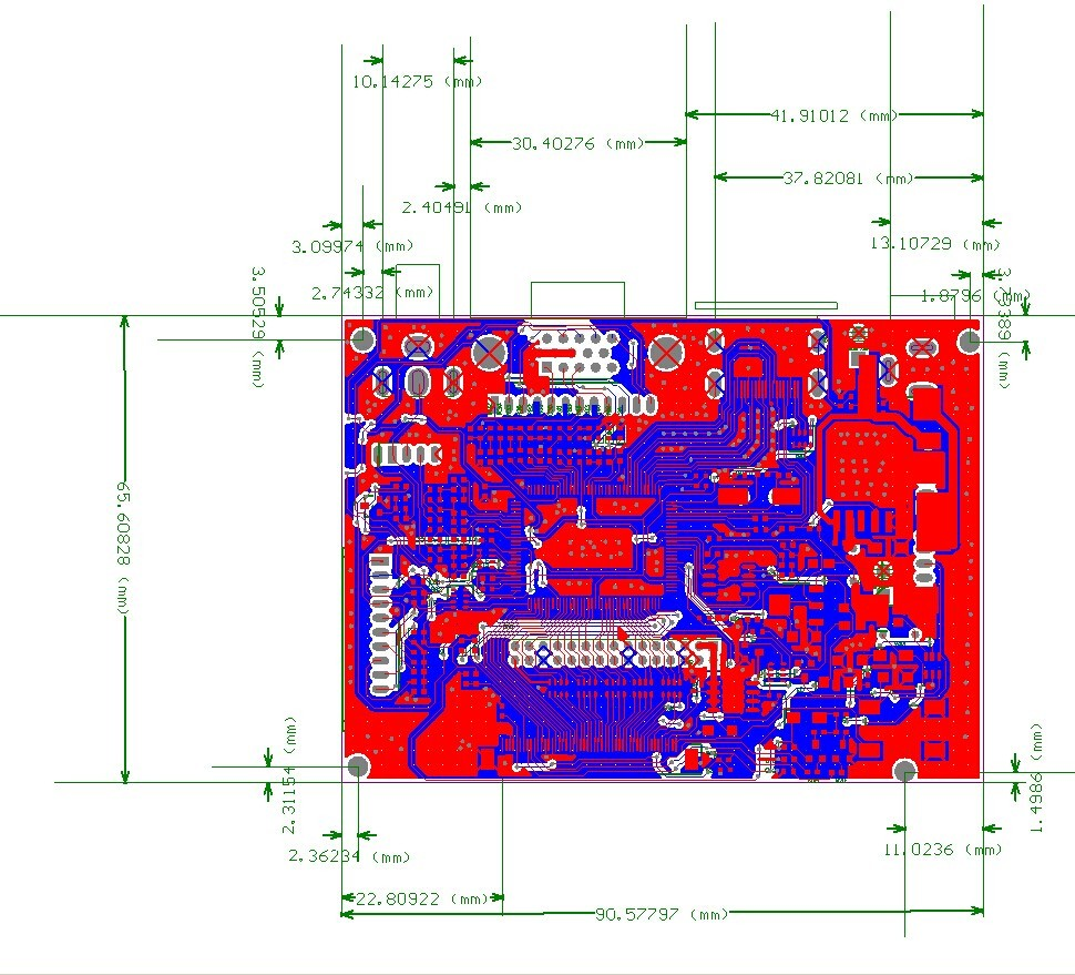 Free Shipping Pcb800099 Hdmi Vga 2av Remote Control Ir Lcd Led To Wiring Diagram This Controller Board Has A Av Port It Supports Displays With Lvds Interface The Max Resolution That Is 1920x1200