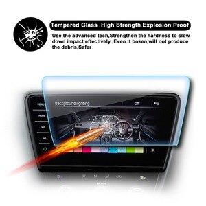 RUIYA Car Screen Protector For Skoda Octavia Columbus 9.2 Inch 2018 2019 Navigation Display Screen Auto Interior Accessories(China)