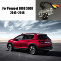 Thehotcakes Car Rear Camera / Reverse Camera For Peugeot 2008 3008 2013~2016 / License Plate Light OEM / HD CCD Night Vision