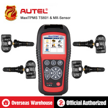 100% Autel MaxiTPMS TS601 TPMS Diagnostic Service Tool Free Update online fully diagnosing tire pressure monitoring system 2018 original xtool ps2 gds gasoline version professional car diagnostic tool ps2 gds free update online without plastic box