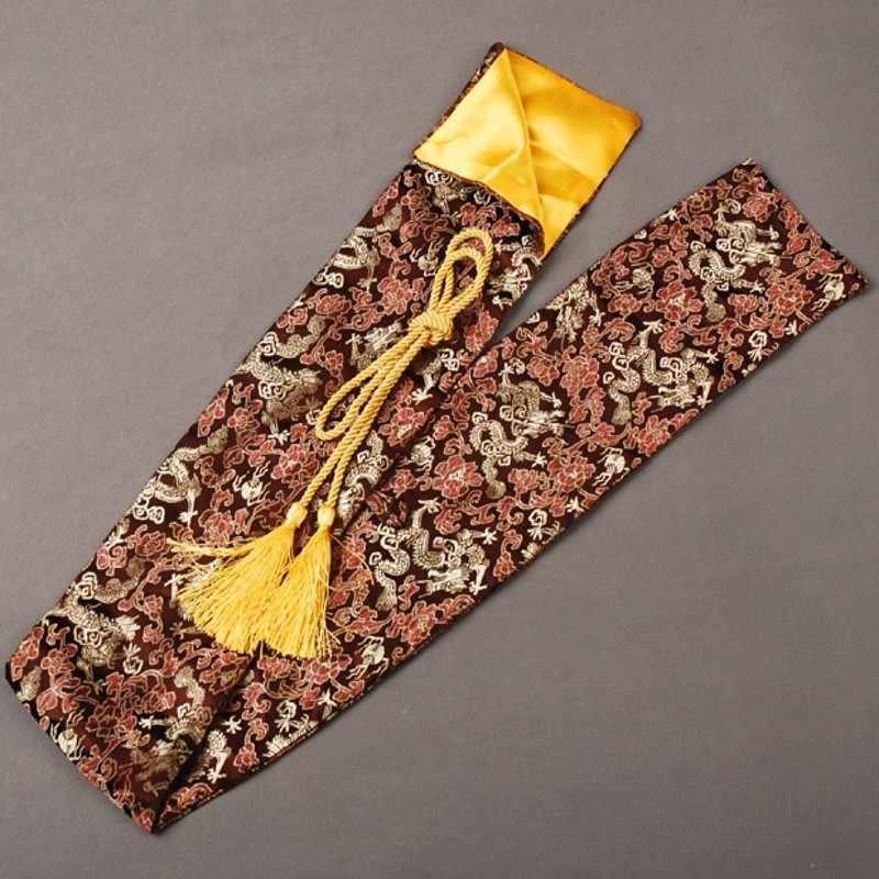 Delicado e Suave De Seda Espada Bag para Japonês Samurai Katana Agradável e Excelente Espada Acessório Melhor Presente ou Coleção QD2