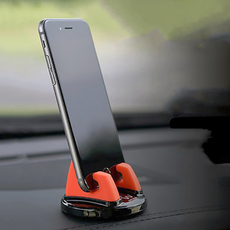 Dashboard Car Cell Phone Holder For Auto Accessory Car Smartphone Mount Silicone GPS Stand For Phone In Car Mobile Holder Mini