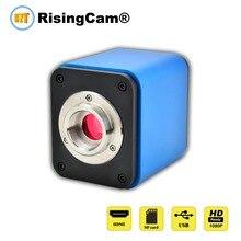 كاميرا ميكروسكوب رقمية عالية الدقة 1080p 60fps SONY imx236 مزودة بمستشعر ثلاثي العينيات بكاميرا HDMI USB للفيديو