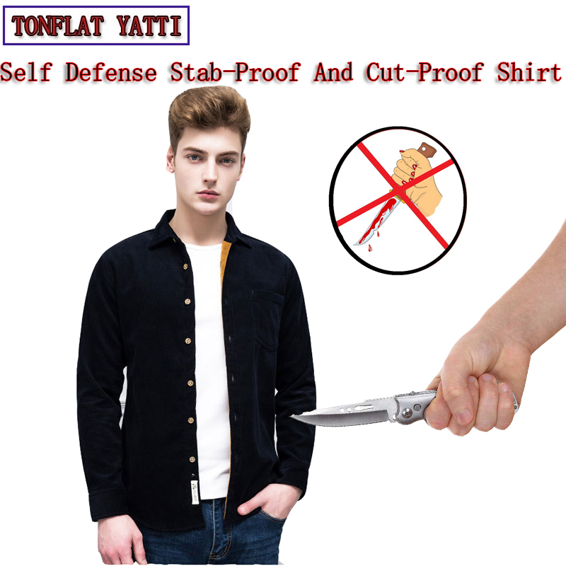 Tactical Gear Military Wick Cotton Soft Stealth Stab-Resistant Cut Shirt Self Defense 4 Color Safety Beveiliging Clothing 2020