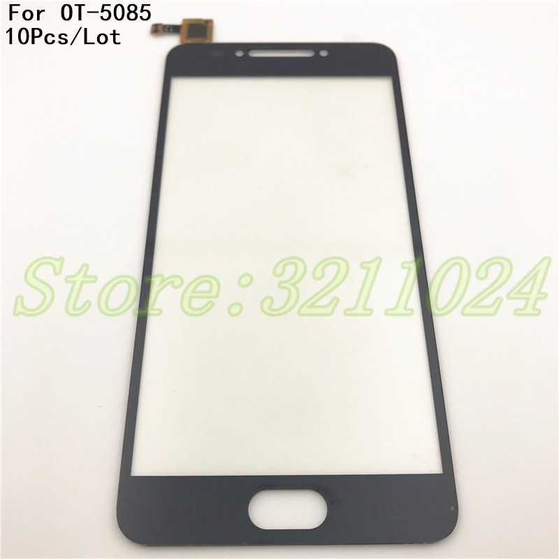 Collectibles Imported From Abroad 10pcs/lot New 5.2 For Alcatel A5 Led 5085 Ot-5085 5085d Touch Screen Front Glass Digitizer Panel Sensor Glass Lens Replacement Refreshing And Beneficial To The Eyes