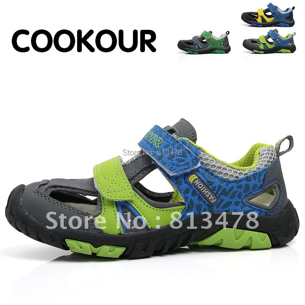 ! summer boys hollow Sandals children comfortable handsome sports beach sandals k52 - wendy hou's store
