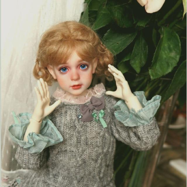 Free Shipping BJD Dolls Dollshe Rosa Classic 1/4 6G Pretty Innocent High Quality Resin Girl Toys Best Gift DS Oueneifs  1