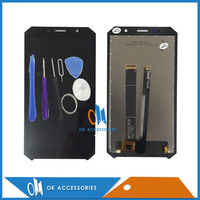 High Quality For Doogee S60 LCD Display With Touch Screen Assembly Black Color With Tools 1PC