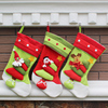 45cm Light Color Present Bags For Christmas Eve Stocking And Gift Holders