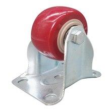 Heavy Duty 125 мм Резиновые Колеса Поворотные, Поворотные Колеса Тележки Заклинателя Тормоза Комплект касторового: Фиксированных колеса