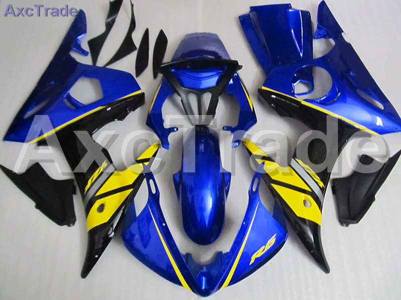 Plastic Fairing Kit Fit For Yamaha YZF600 YZF 600 R6 YZF-R6 2003 2004 2005 03 04 05 Fairings Set Custom Made Motorcycle Bodywork kemimoto r6 motorcycle complete full set of fairing bolts bolt kit body screws for yamaha yzf r6 2006 2007 r6