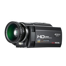 HDV-F5 Full HD 1080P Digital Camera 3.0 inch Touch Screen Professional Camcorder Remote Control 16X Zoom Video Cameras