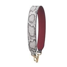 Fashion Serpentine Straps Colour Pu Leather Handle For Handbags Replace Belt Accessories Women Bag