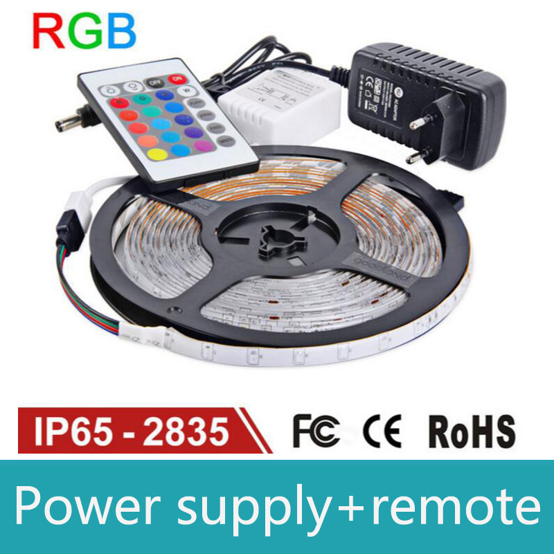 Tira de luz LED RGB impermeable IP65 60LEDs / m 5M 2835 SMD luces RGB - Iluminación LED - foto 1