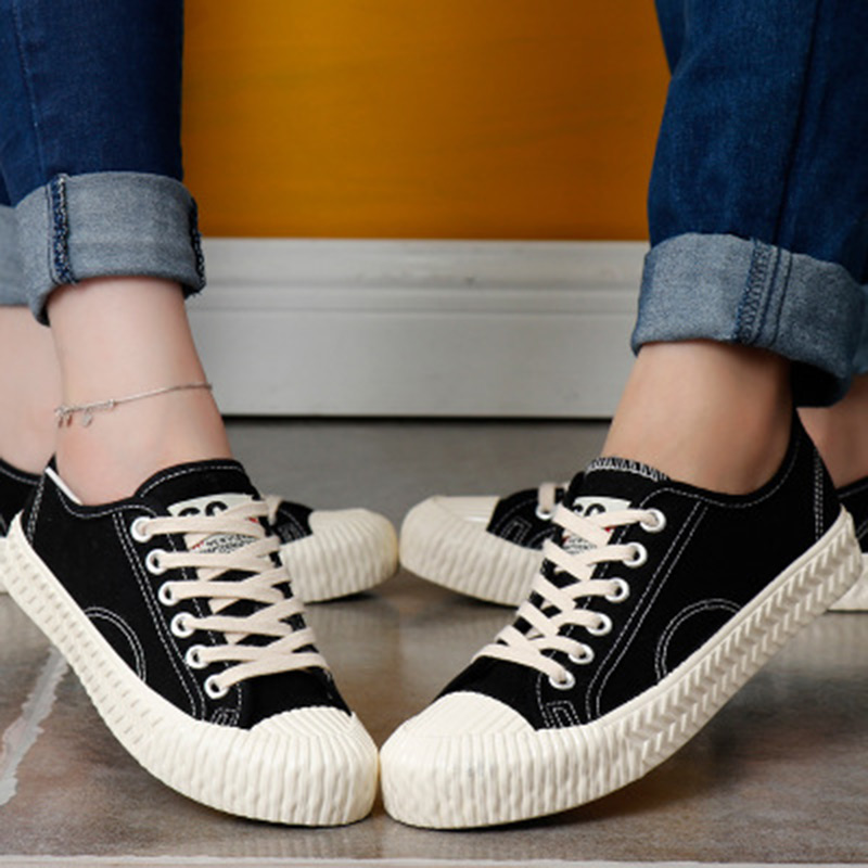 2018 New fashion sneaker canvas shoes female spring wallking summer white shoes women casual shoes tenis feminino