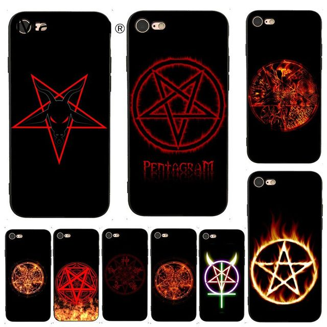 pentagram iphone 7 case