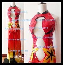 Guilty Crown Inori Yuzuriha Sexy Dress Outfit Cosplay Costume Custom Made